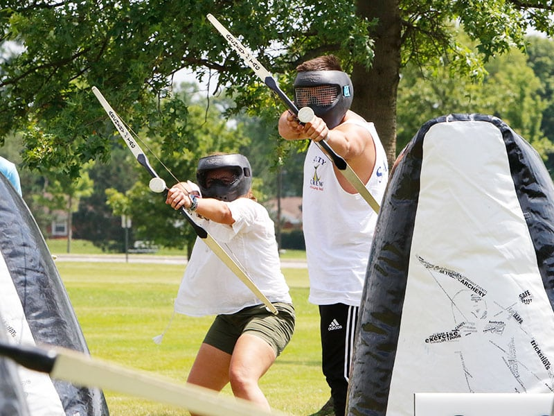 Archery Tag Events Grand Rapids