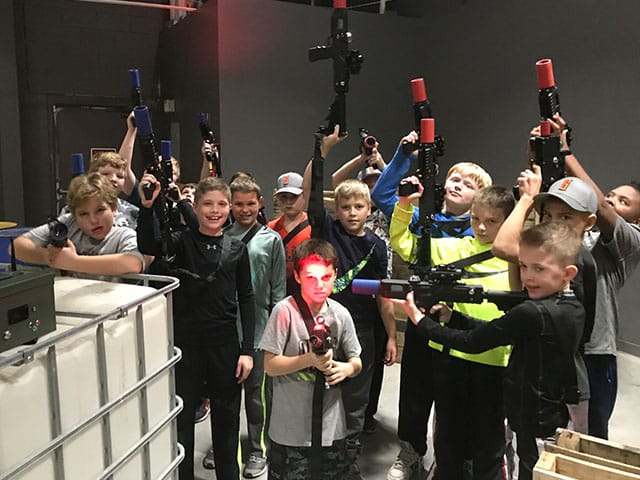 Grand Rapids Laser Tag Kids Party