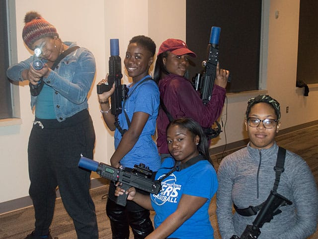 Grand Rapids MI Laser Tag Party