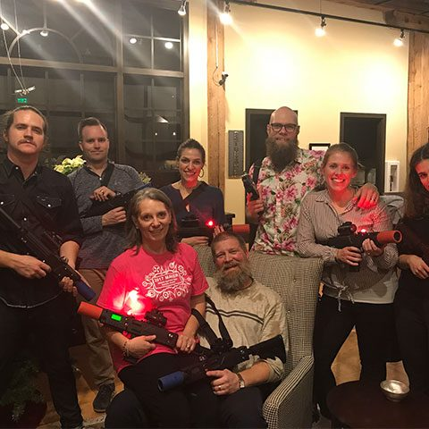 Laser Tag Christmas Party Event Grand Rapids