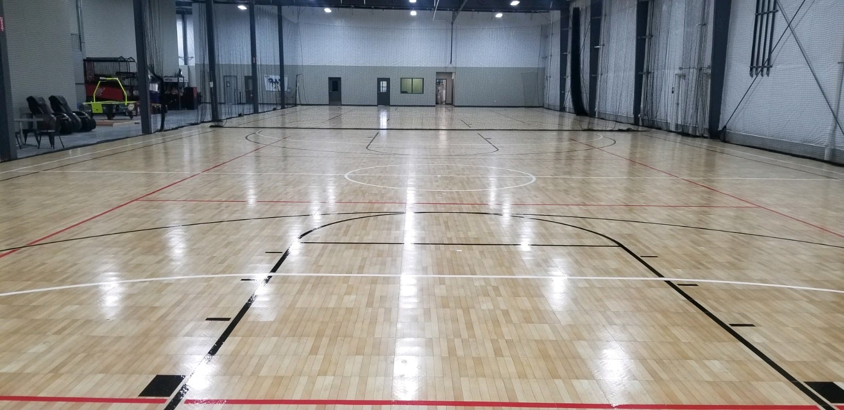 multi-sport courts for birthday parties