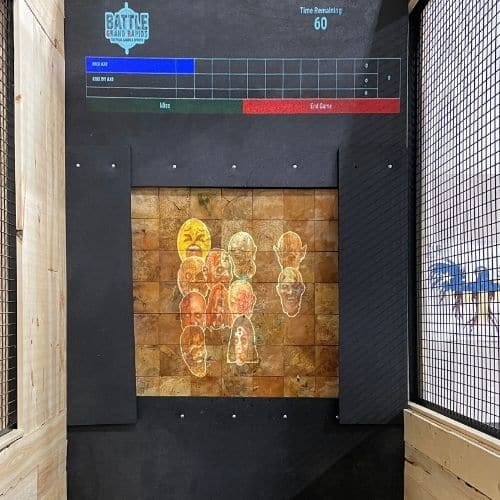 axe throwing zombies